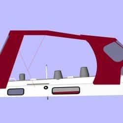 Westerly Oceanlord LACONDORE, Cockpit Enclosure_9