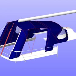 X302 Mk 1 QUICKSTEP, Cockpit Enclosure fitted to Tecsew Sprayhood_10