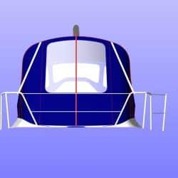 X302 Mk 1 QUICKSTEP, Cockpit Enclosure fitted to Tecsew Sprayhood_6