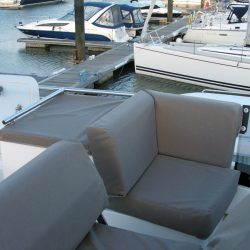 Sealine F42 Flybridge crew covers_6
