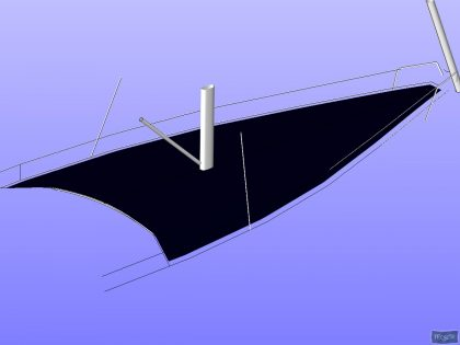 Beneteau Oceanis 48 Foredeck Deck Cover_1