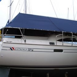 Southerly 32 Over Boom Deck Cover_4
