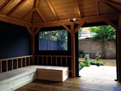 Garden Gazebo panels, square design 2