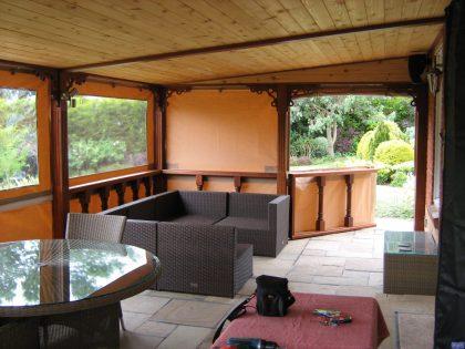 Garden patio awning_6