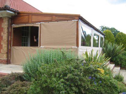 Garden patio awning_4