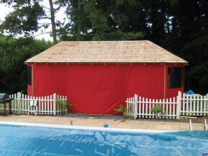 Garden Swimming Pool Gazebo Awnings 2