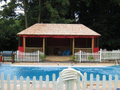 Garden swimming pool gazebo awnings_3