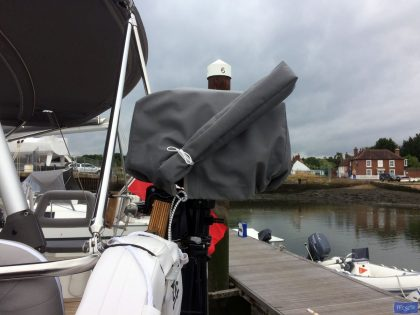 Outboard Engine Top Box Cover with separate handle cover_1