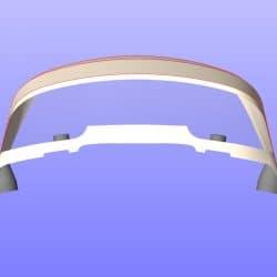 "Arcona 370, ""Arc en Ceil"", New design 3 bar Sprayhood_11"