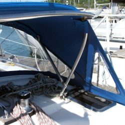 Bavaria 44 Sprayhood recover, Juba_1