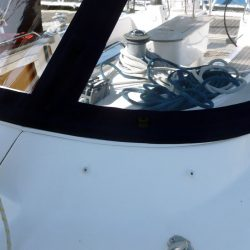 Bavaria 50 Cruiser, Tecsew design larger Sprayhood_8
