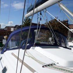 Beneteau Oceanis 331 recover of factory fit Sprayhood, EXUMA_3
