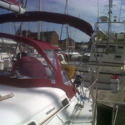 Beneteau Oceanis 361, Sprayhood recover, revamped design_1