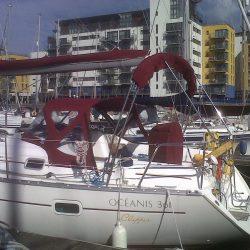 Beneteau Oceanis 361, Sprayhood recover, revamped design_2