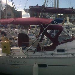Beneteau Oceanis 361, Sprayhood recover, revamped design_3