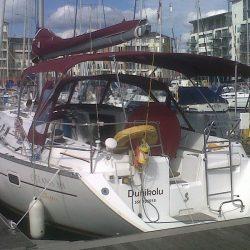Beneteau Oceanis 361, Sprayhood recover, revamped design_5