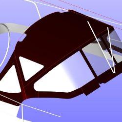 Beneteau Oceanis 361, Sprayhood recover, revamped design_8