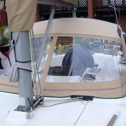 Beneteau Oceanis 36cc Sprayhood recover, ref Alb_3