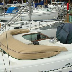 Beneteau Oceanis 36cc Sprayhood recover, ref Alb_4