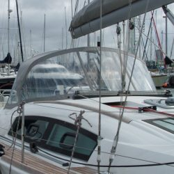 Beneteau Oceanis 40 Sprayhood recover for factory fitted original_1