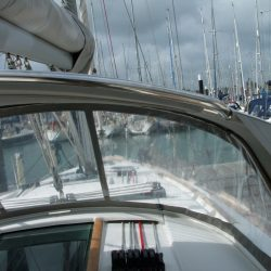 Beneteau Oceanis 40 Sprayhood recover for factory fitted original_2