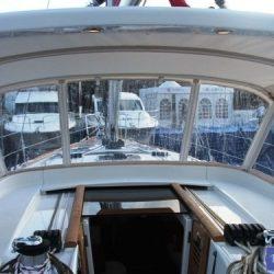 Beneteau Oceanis 50, 2009 model, Sprayhood_3