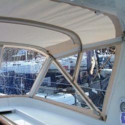 Beneteau Oceanis 50, 2009 model, Sprayhood_1
