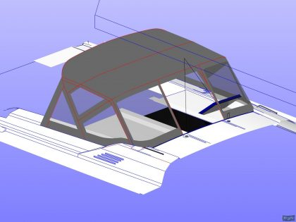 Beneteau Oceanis 51.1, model with NO ARCH, Sprayhood_17
