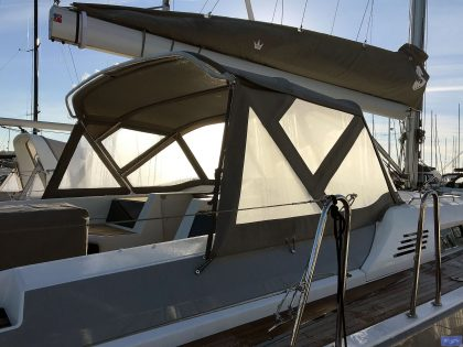 Beneteau Oceanis 51.1, model with NO ARCH, Sprayhood_2