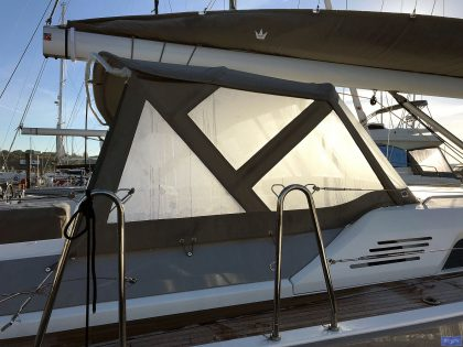 Beneteau Oceanis 51.1, model with NO ARCH, Sprayhood_3