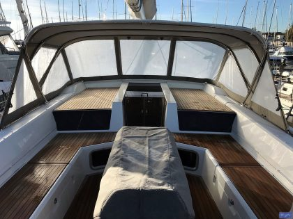 Beneteau Oceanis 51.1, model with NO ARCH, Sprayhood_4