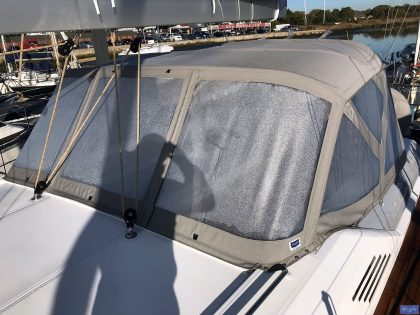 Beneteau Oceanis 51.1, model with NO ARCH, Sprayhood_5