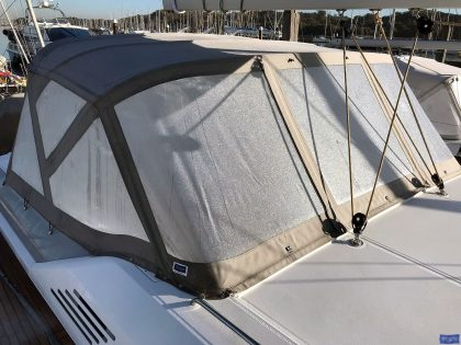 Beneteau Oceanis 51.1, model with NO ARCH, Sprayhood_7