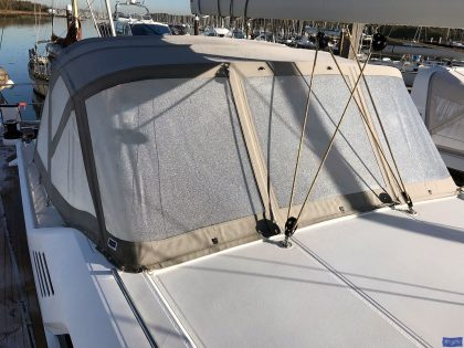 Beneteau Oceanis 51.1, model with NO ARCH, Sprayhood_8