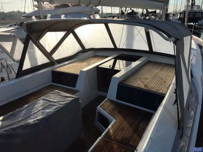Beneteau Oceanis 51.1, model with NO ARCH, Sprayhood_9