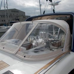 Discovery 48 Sprayhood and Arch Infill Panel_3