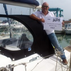 Elan 310 Sprayhood self fitted in Italy by one of our happy customers_6