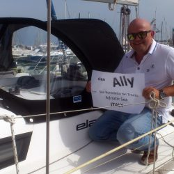 Elan 310 Sprayhood self fitted in Italy by one of our happy customers_7