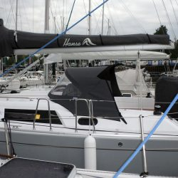 Hanse 325 Sprayhood recover for factory fit original_4