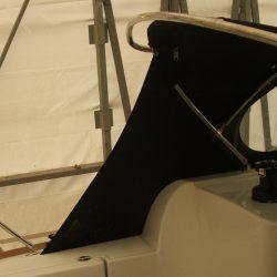 Jeanneau Sun Odyssey 33i Sprayhood extended aft 150mm _1
