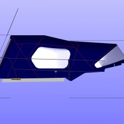 Approximate heights from cockpit floor, shown with Tecsew Cockpit Enclosure_1