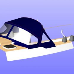 Moody 48 optional window in wings
