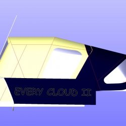 Moody S31 Sprayhood recover shown with optional Cockpit Enclosure_3