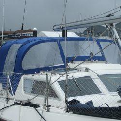 Southerly 115 series 1 Sprayhood, Sea Thyme_1
