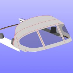 Westerly Sealord Tecsew design 3 bar Sprayhood_13