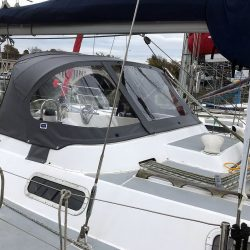 Westerly Sealord Tecsew design 3 bar Sprayhood _3