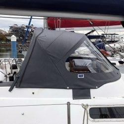 Westerly Sealord Tecsew design 3 bar Sprayhood _4