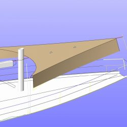 Hanse 575 Fore Deck Awning_8