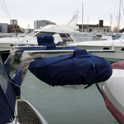 Tender cover on Davits with outboard covered_2