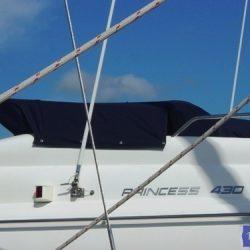 Princess 430 Flybridge Tonneau